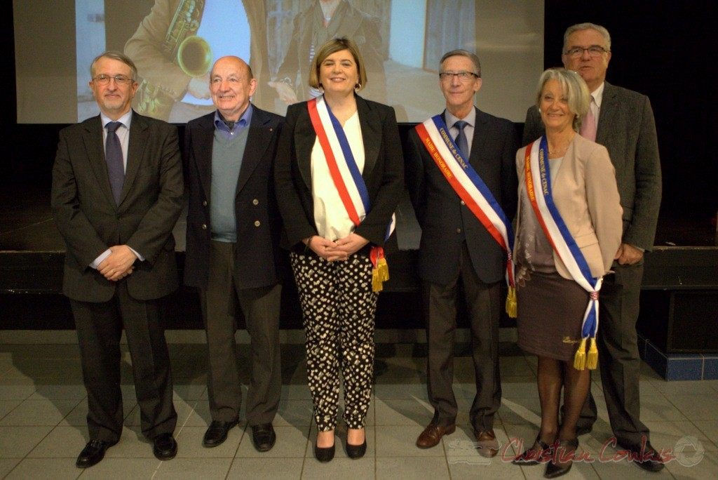 Jean-Michel Bédécarrax, Pierre Heugas, Catherine Veyssy, Gérard Pointet, Simone Ferrer, Jean-Marie Darmian; vendredi 3 avril 2015