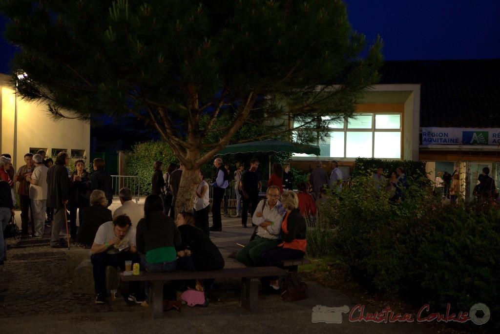 Festival JAZZ360 2015, changement de plateau entre Atrisma & Laurent Coulondre Trio, 12/06/2016