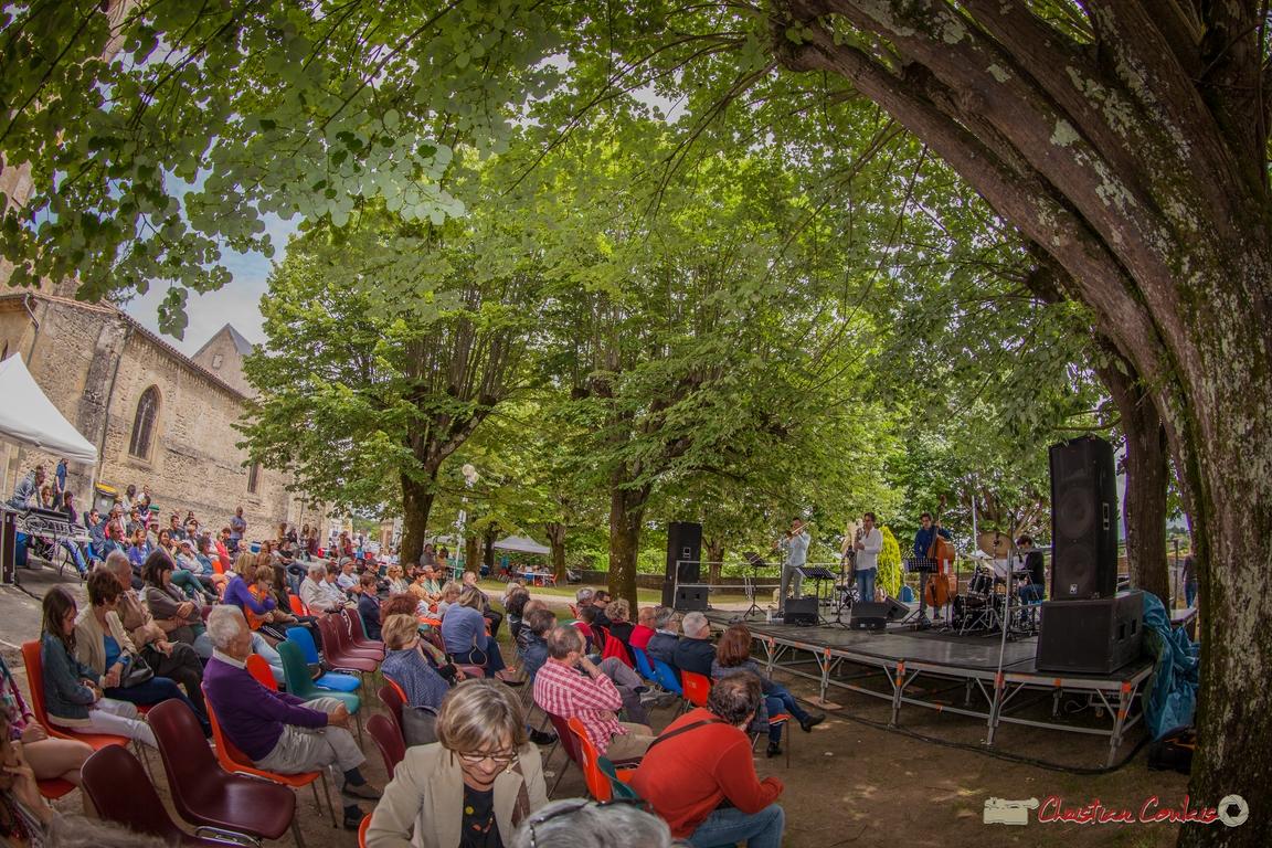 11/06/2016. Éric Séva Quartet, Camblanes-et-Meynac. Festival JAZZ360