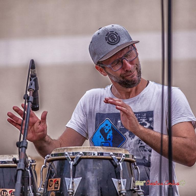Ludo Lesage; Shob & Friends. Festival JAZZ360 2018, Quinsac. 10/06/2018