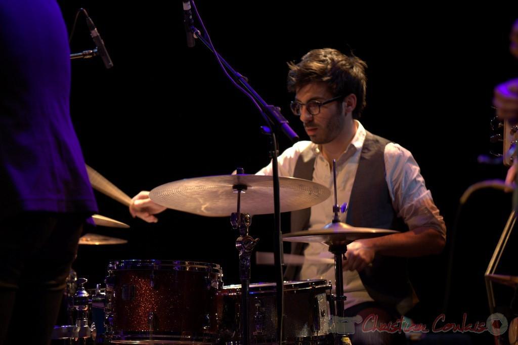 Thomas Doméné, les Métropolitains, Festival JAZZ360 2013