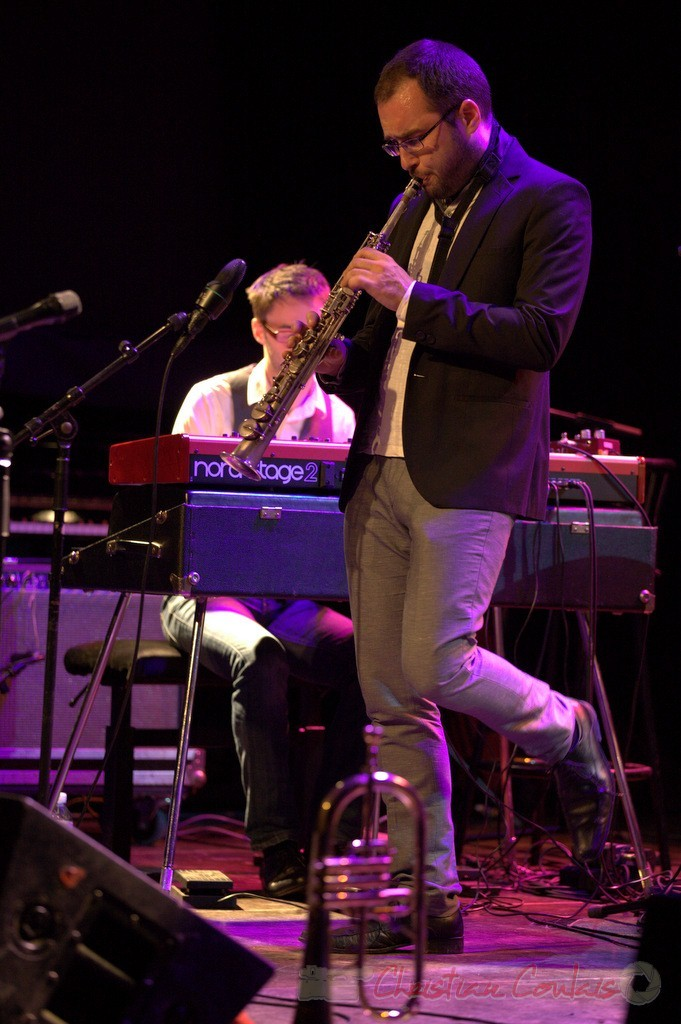 Régis Ferrante, les Métropolitains, Festival JAZZ360 2013