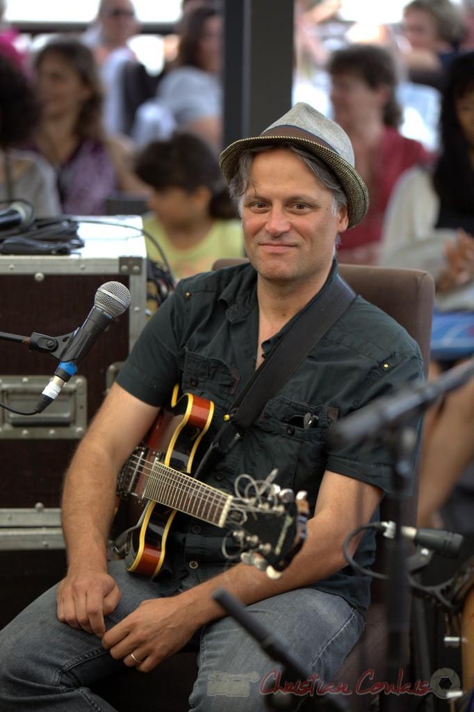 Festival JAZZ360 2015, Fabrice Vieira. 13 juin 2015