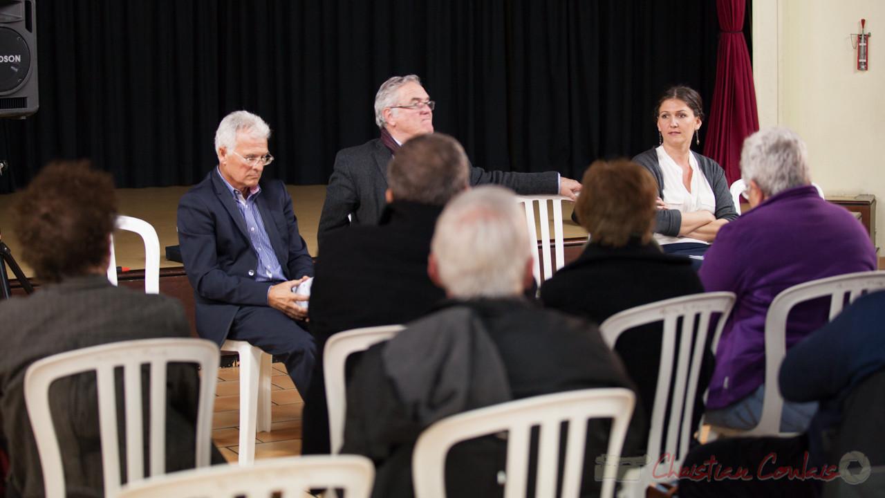 Première réunion publique du mandat des Conseillers départementaux à Tresses