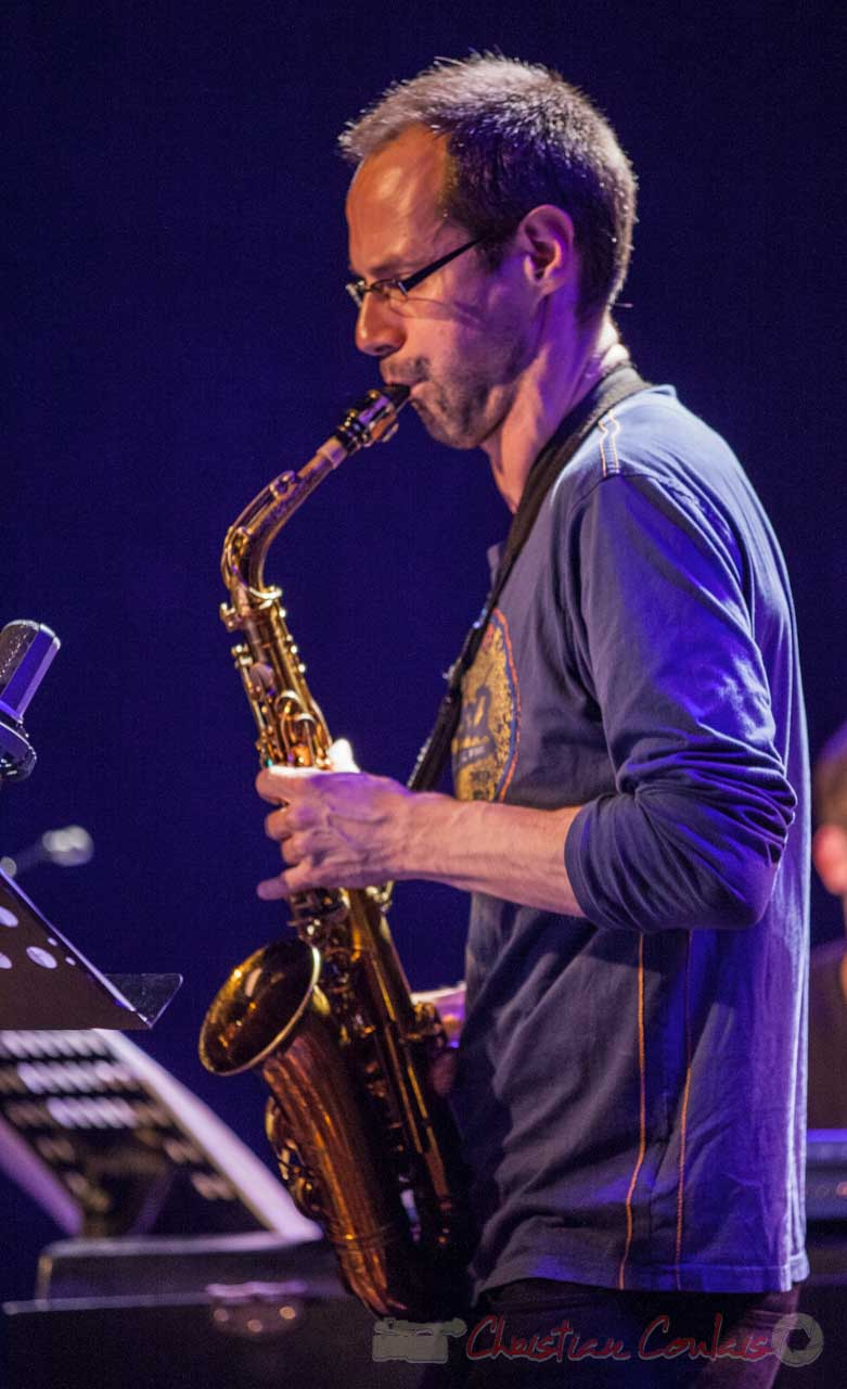 Julien Dubois, Festival JAZZ360 2016, Cénac 4/4