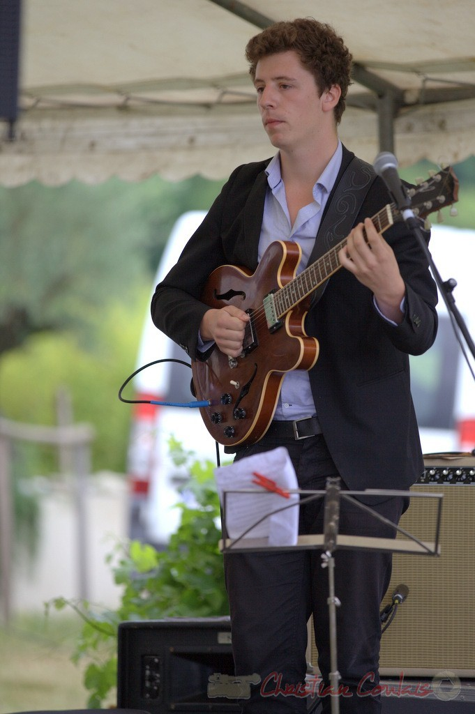 Festival JAZZ360 2015, Thomas Boudé; Isotope Trio, Quinsac. 14/06/2015