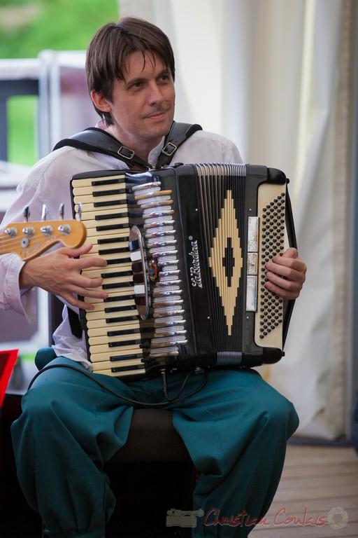 Michael Geyre, Peuple étincelle. Festival JAZZ360 2015, Camblanes-et-Meynac