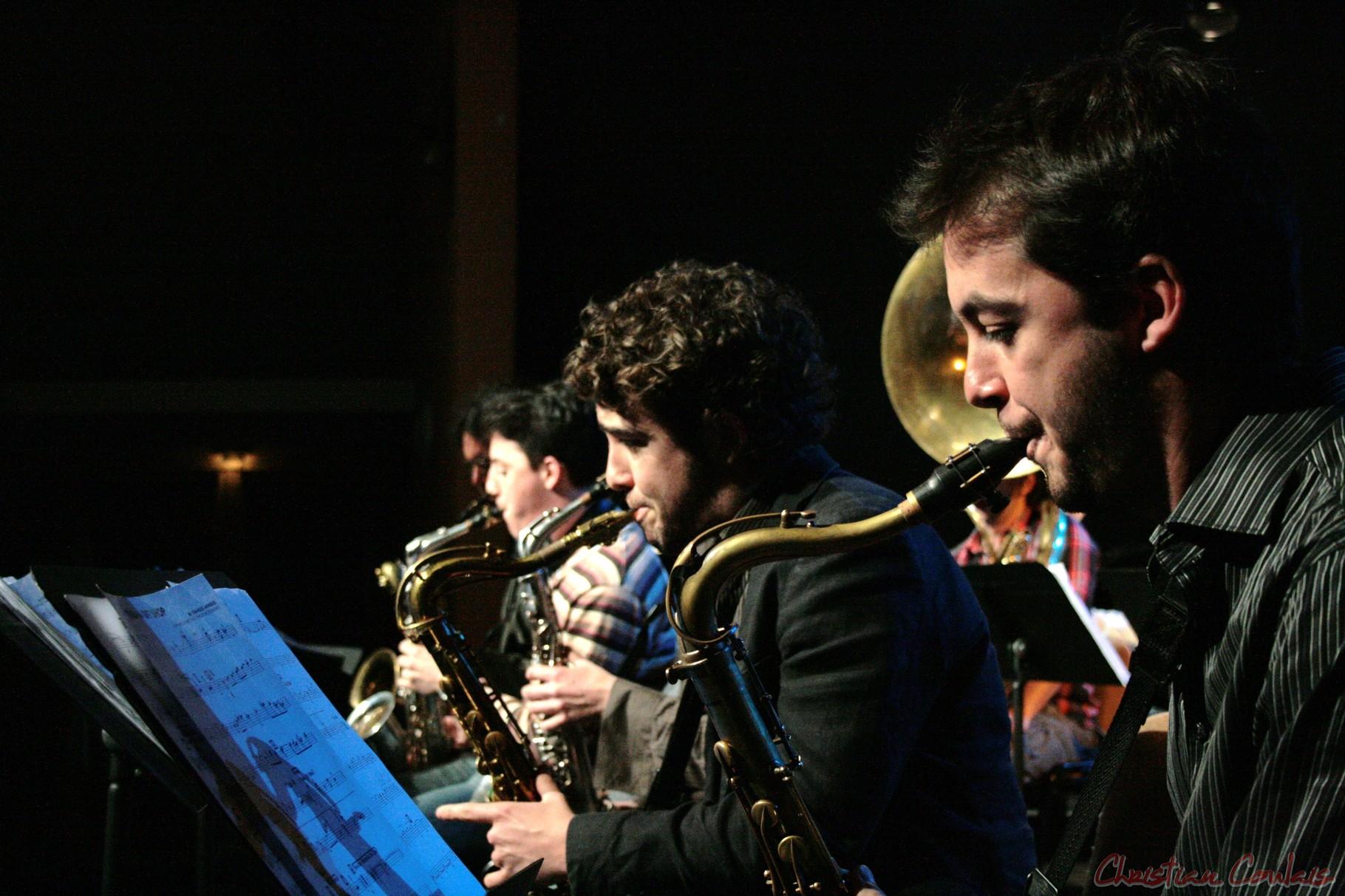 Festival JAZZ360 2010, Big Band du Conservatoire Jacques Thibaud de Bordeaux, Cénac