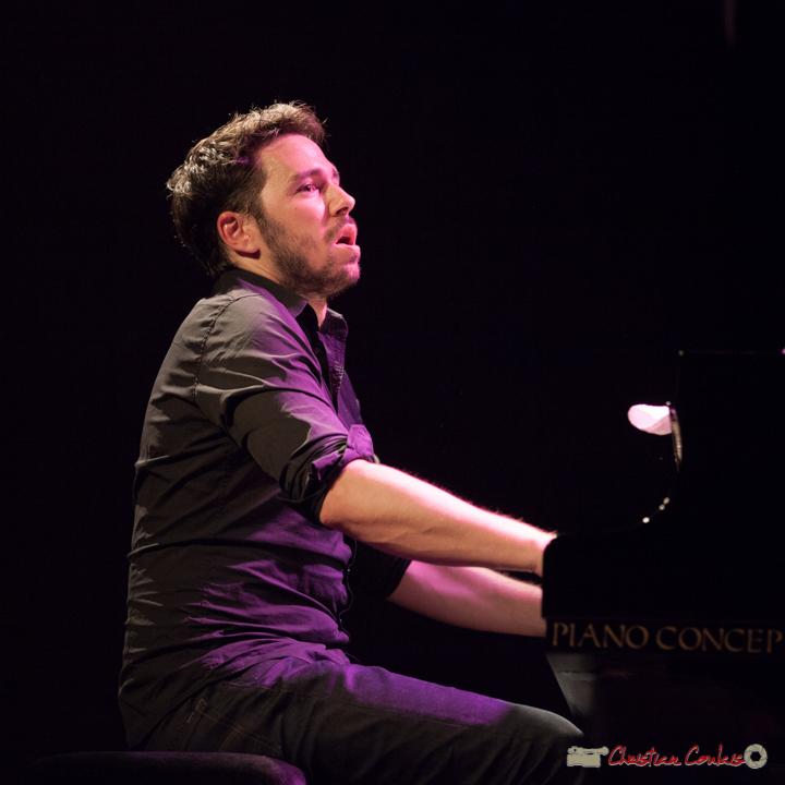 """Etude de mouvements 5"". Rémi Panossian, Rémi Panossian RP3 Trio, Festival JAZZ360, Cénac, 9 juin 2017"