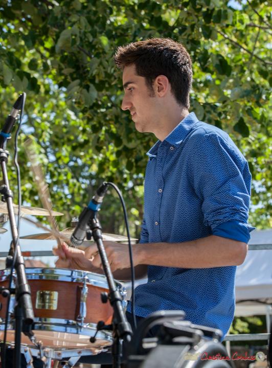 Pierre Lucbert, Tom Ibarra Group. Festival JAZZ360, 10 juin 2017, Camblanes-et-Meynac