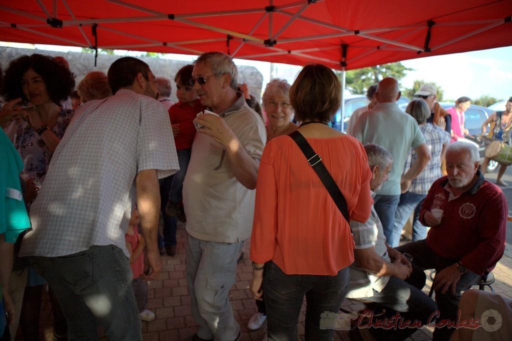 Festival JAZZ360 2015, Bernard Capdepuy, Conseiller municipal de Quinsac, Cénac, 12 juin 2015