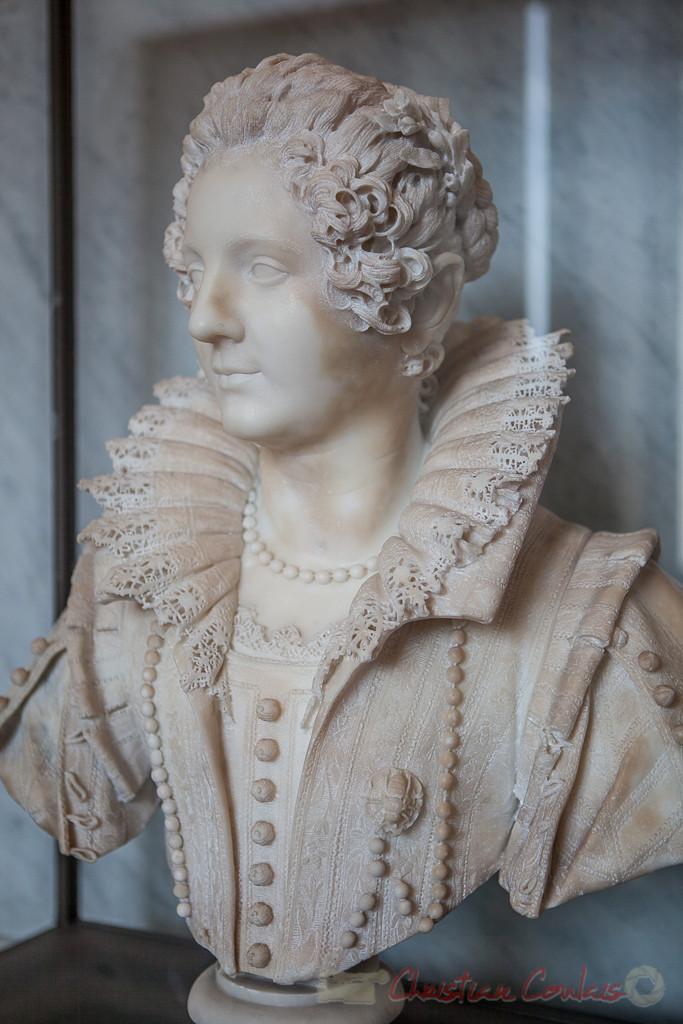 Maria Duglioli Barberini (1599 - 1621), Giuliano Finelli, Galerie Michel-Ange, Musée du Louvre