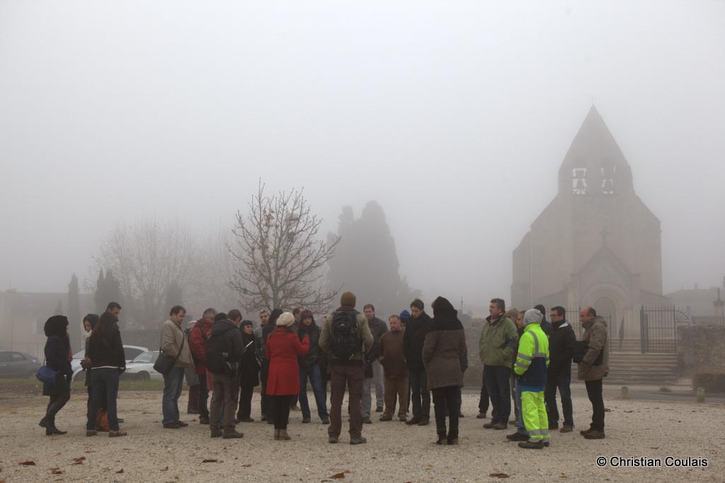 Journée CAUE, gestion différenciée, les cimetières des villages, Cénac, Gironde