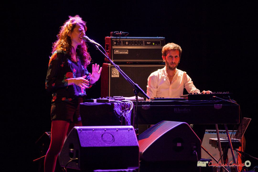 Leïla Martial, Tony Paeleman; Anne Paceo Circles. Festival JAZZ360, Cénac, 10 juin 2017