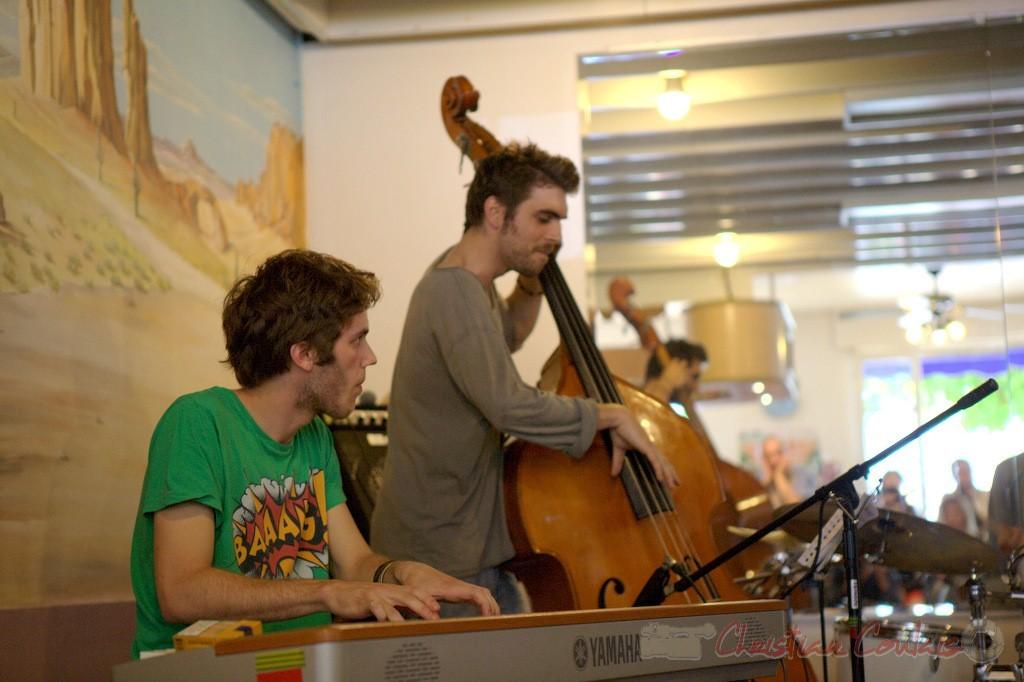 Atelier Jazz Conservatoire Jacques Thibaud de Bordeaux. Festival JAZZ360 2012, Cénac. 10/06/2012