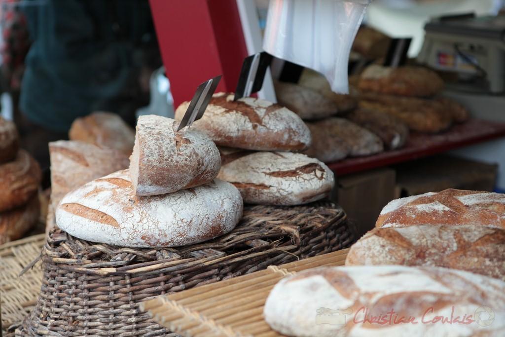 Boulangerie traditionnelle, Marché de Créon, Gironde