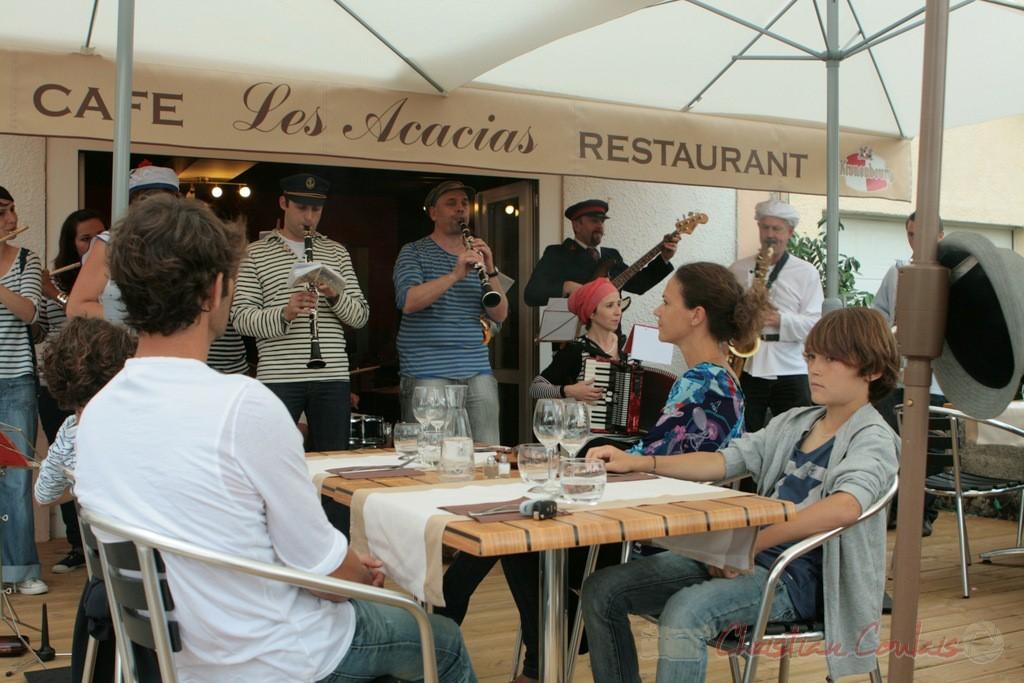Souper Jazz au restaurant les Acacias, Cénac. Festival JAZZ360. 04/06/2011