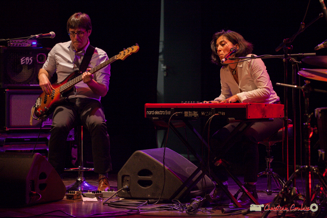 Benjamin Pellier, Valérie Chane-Tef; Akoda. Soirée cabaret JAZZ360, salle culturelle de Cénac. 17/03/2018