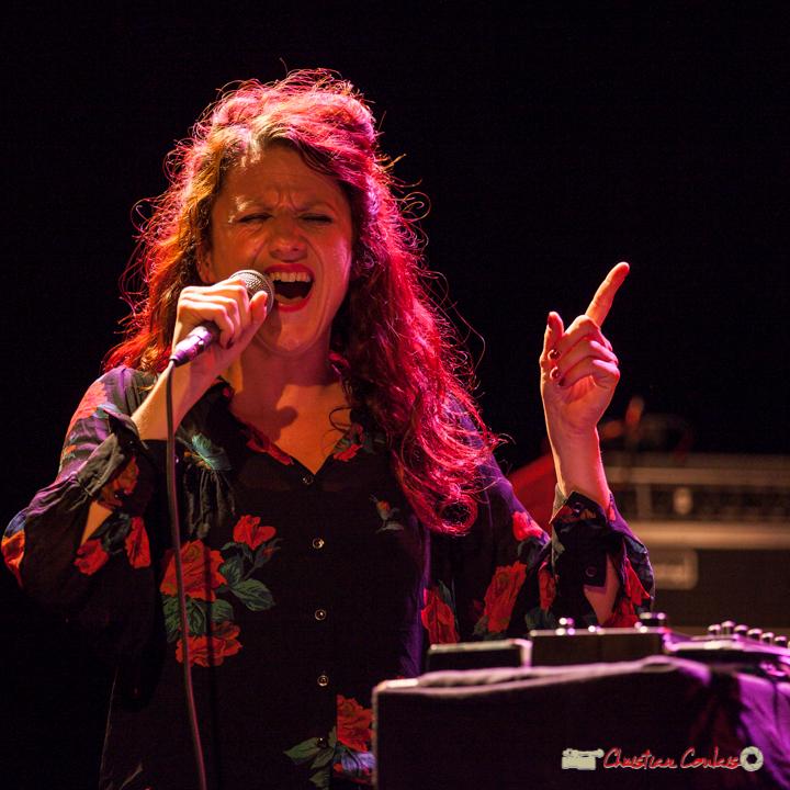 Leïla Martial; Anne Paceo Circles. Festival JAZZ360, Cénac, 10 juin 2017