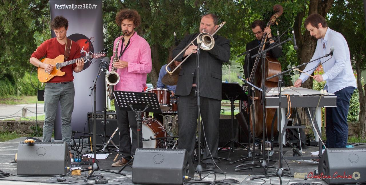 12/06/2016. Alexis Valet Sextet, Quinsac. Festival JAZZ360
