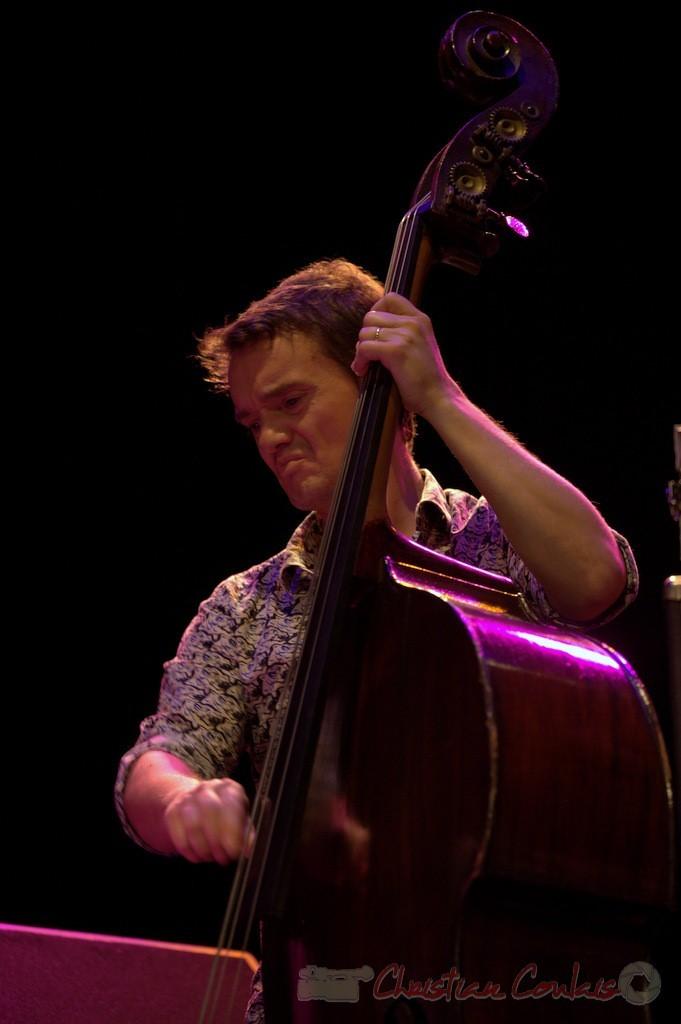 Festival JAZZ360 2015, Stéphane Kerecki; Thomas Savy Quintet. Cénac, 13/06/2015