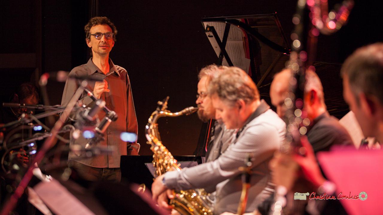 7 Pierre de Bethmann, directeur & arrangeur musical. Festival JAZZ360 2019, Cénac. 07/06/2019