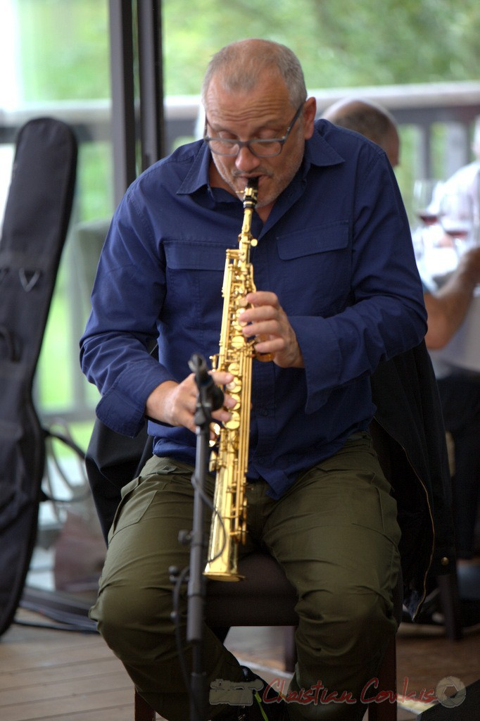 Festival JAZZ360 2015, François Corneloup