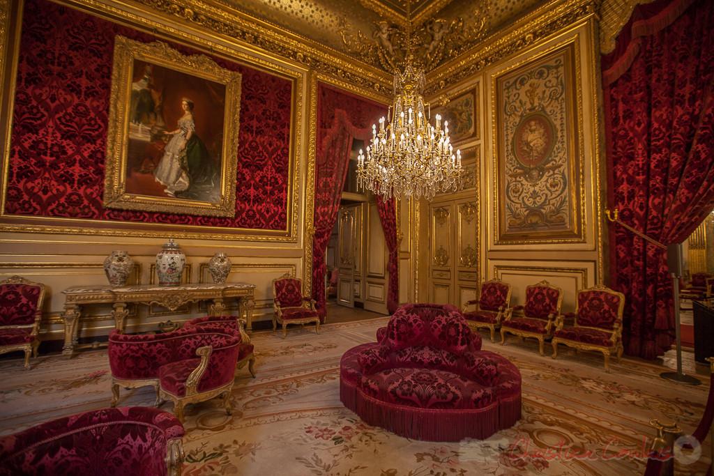 Salon-théâtre, Appartements de Napoléon III, Musée du Louvre