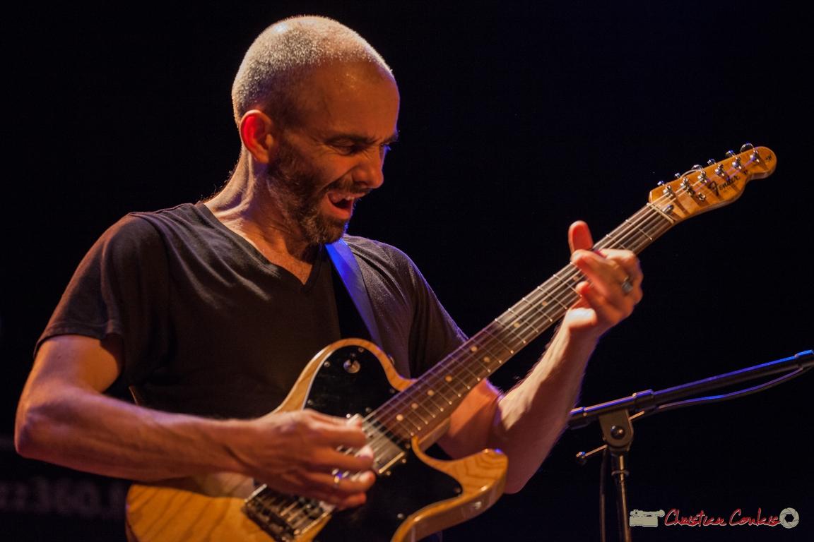 10/06/2016. Philippe Gordiani, guitare, Sylvain Rifflet Quartet . Festival JAZZ360
