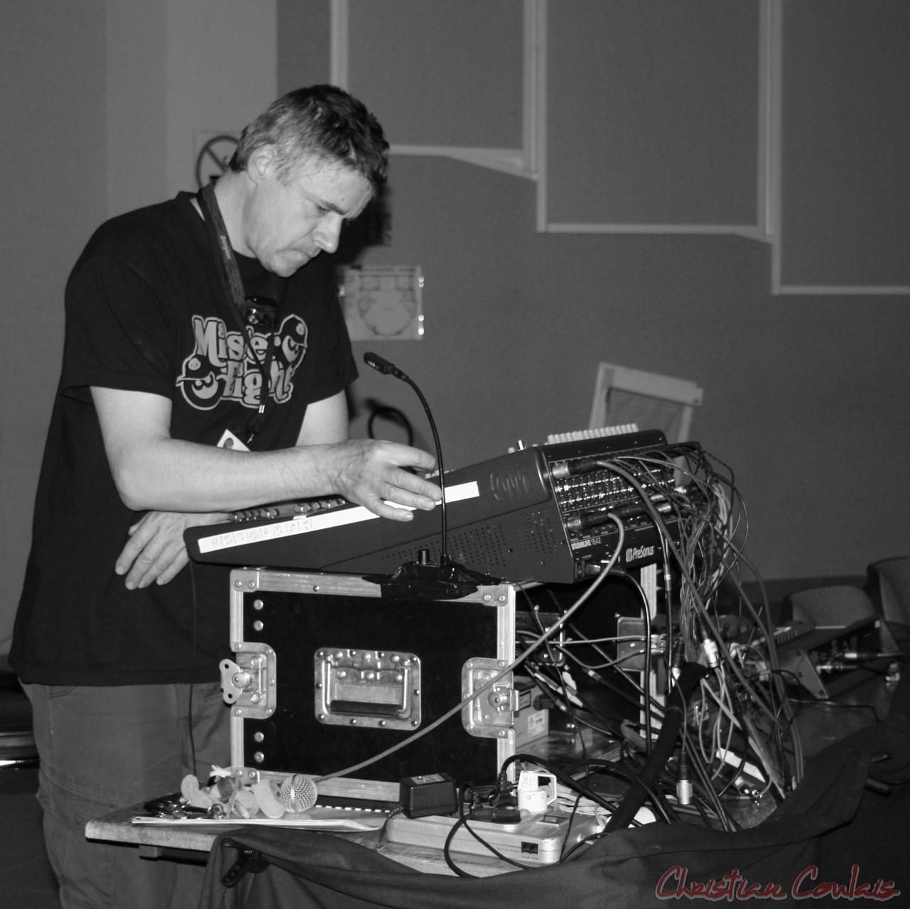 Festival JAZZ360 2010, Pablo Jaraute, régie son, Salle cuturelle de Cénac