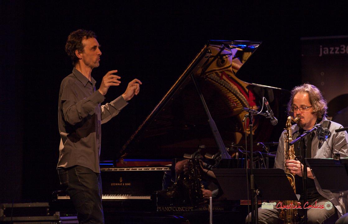1 Pierre de Bethmann, directeur & arrangeur musical. Festival JAZZ360 2019, Cénac. 07/06/2019