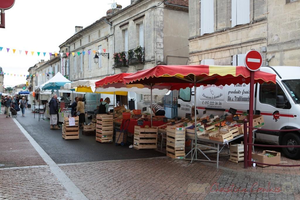Marché de Créon, Gironde