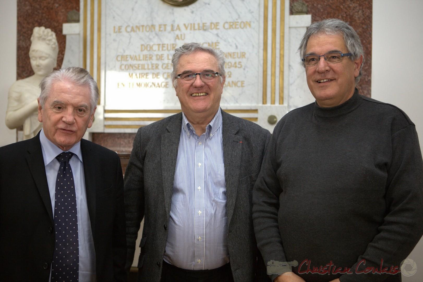 Philippe Madrelle, Jean-Marie Darmian, Pierre Gachet, Créon