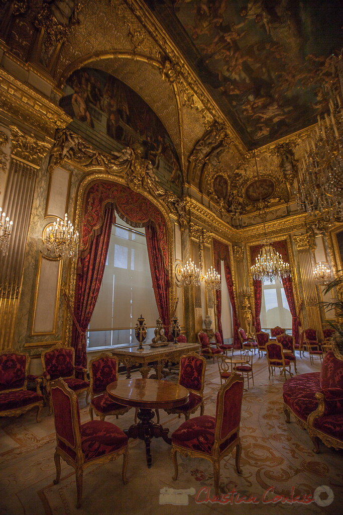 Grand salon, Appartements de Napoléon III, Musée du Louvre