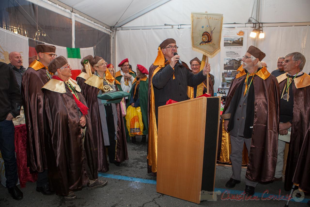 Jean-Marie Darmian ferme le ban de la Confrérie de la Cagouille Créonnaise