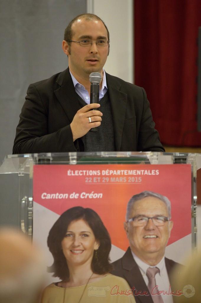 Christophe Miqueu, porte-parole du Front de de Gauche