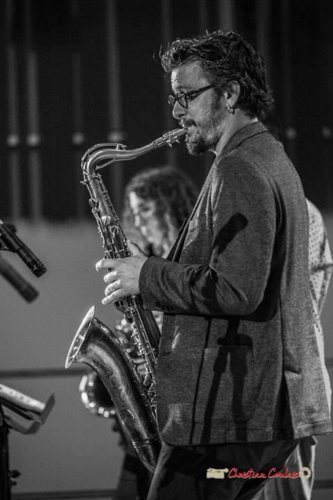 Solo de Valentin Foulon; Docteur Nietzsche, Festival JAZZ360 2019, St-Caprais-de-Bordeaux. 05/06/2019