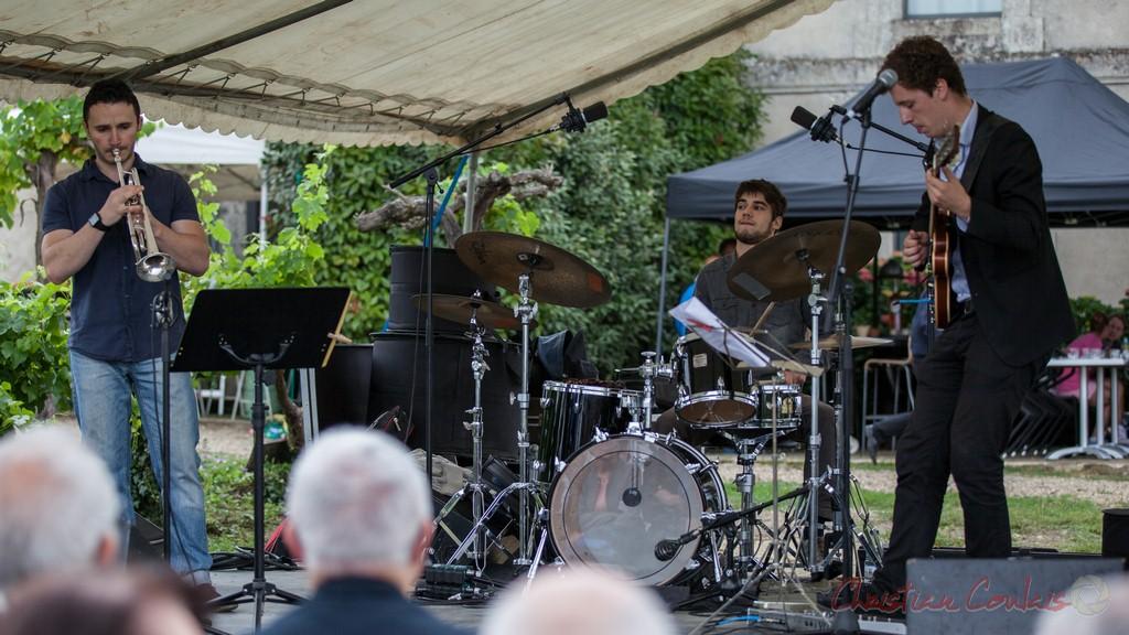 Isotope Trio. Festival JAZZ360 2015, Quinsac