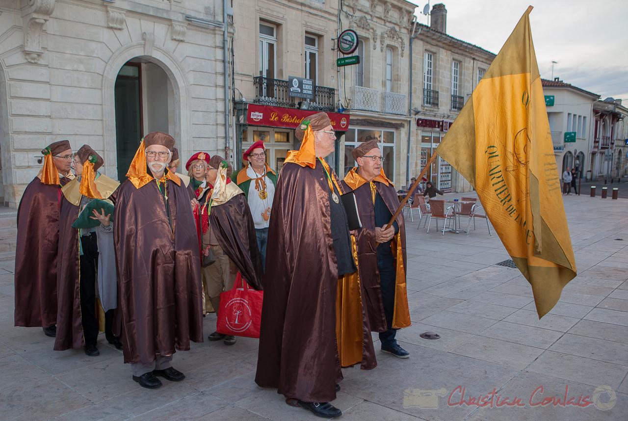 Arrivée de la Confrérie de la Cagouille Créonnaise, Créon