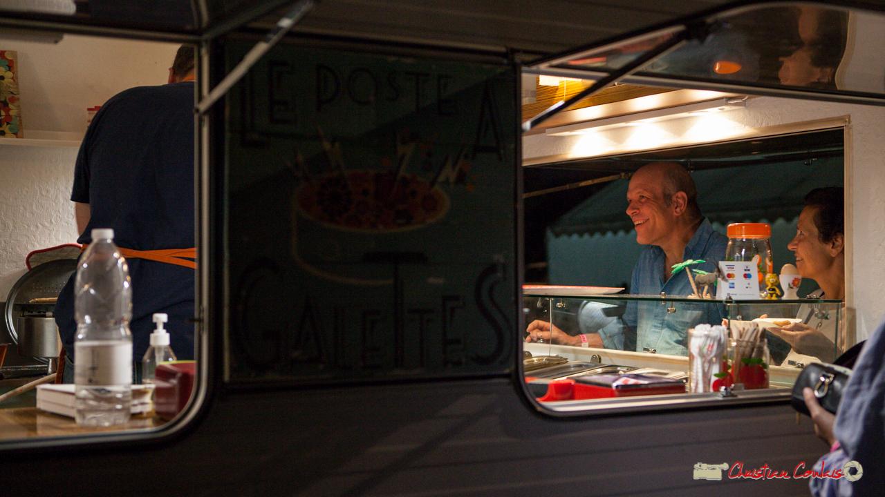 """Entracte """"Le Poste à Galettes"""". Festival JAZZ360, Cénac, 9 juin 2017"""