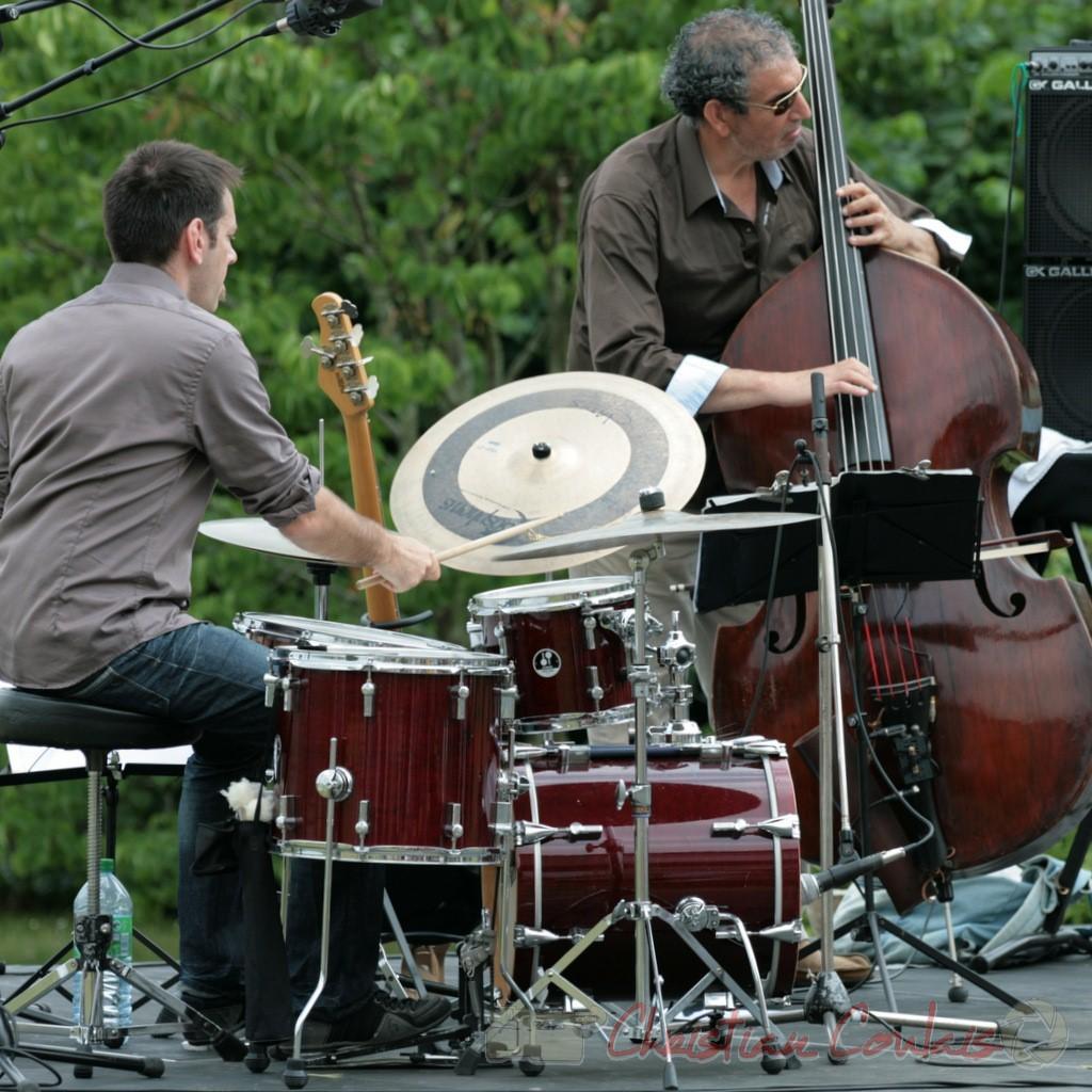Didier Ottaviani, Iazid Ketfi; Philippe Bayle Trio, Festival JAZZ360 2011, Quinsac. 05/06/2011