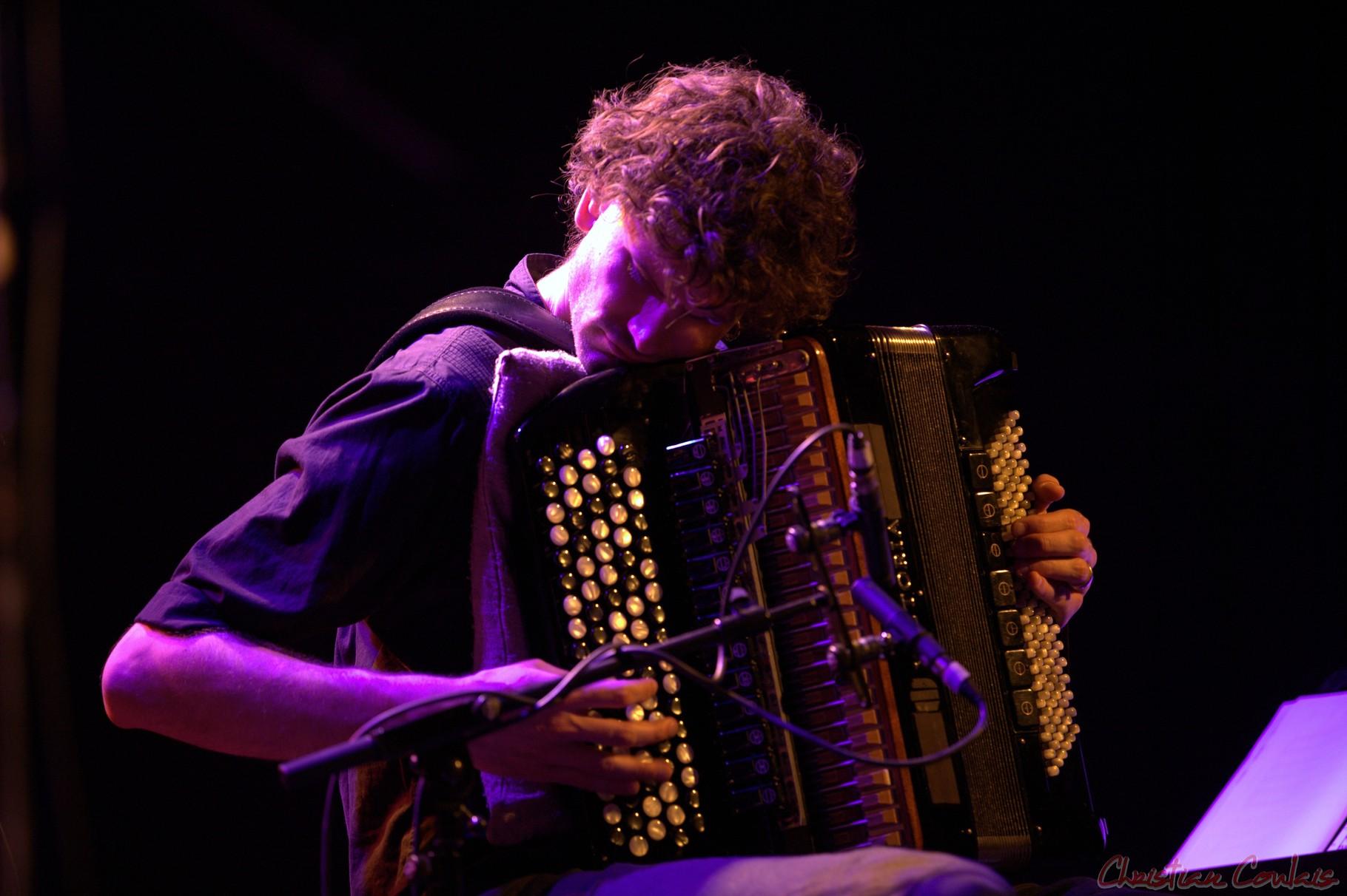 """Festival JAZZ360 2013, Vincent Peirani, Daniel Humair Quartet """"Sweet & Sour"""", Cénac"""