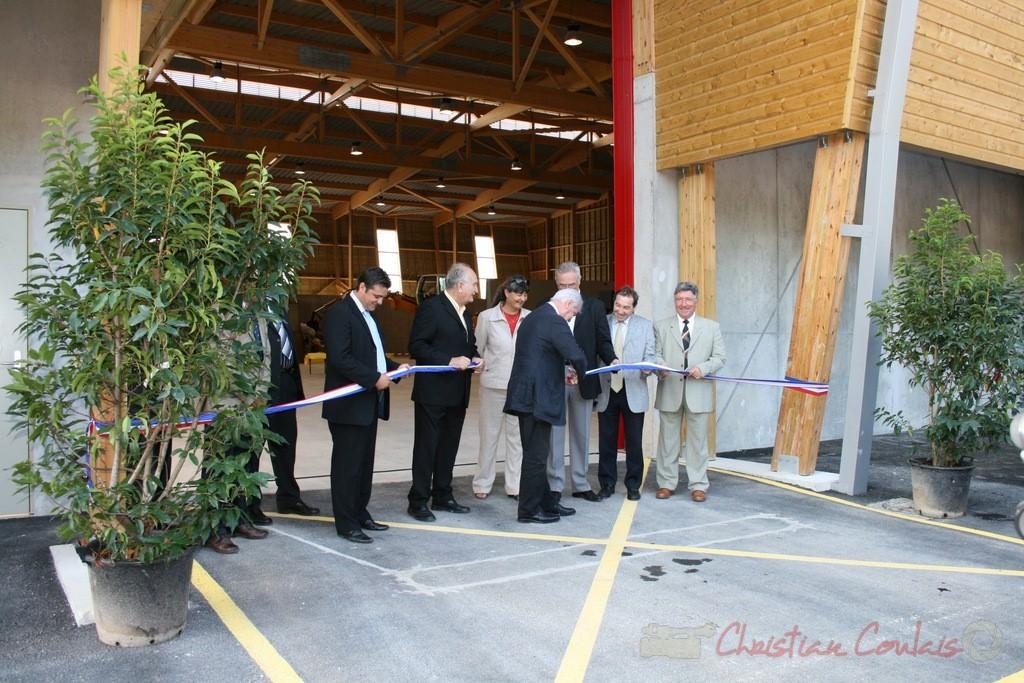 Inauguration par Philippe Madrelle, Président du Conseil général de la Gironde