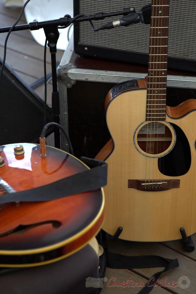 Festival JAZZ360 2015, guitares, Peuple Etincelle / François Corneloup. 13 juin 2015