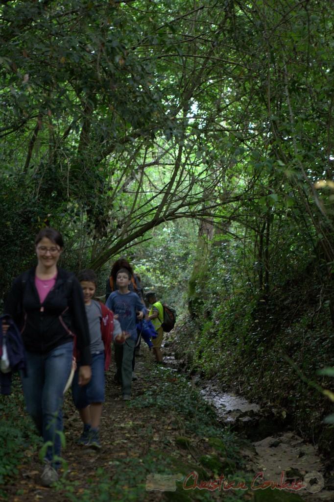 Festival JAZZ360 2015, randonnée pédestre, chemin communal, Camblanes-et-Meynac