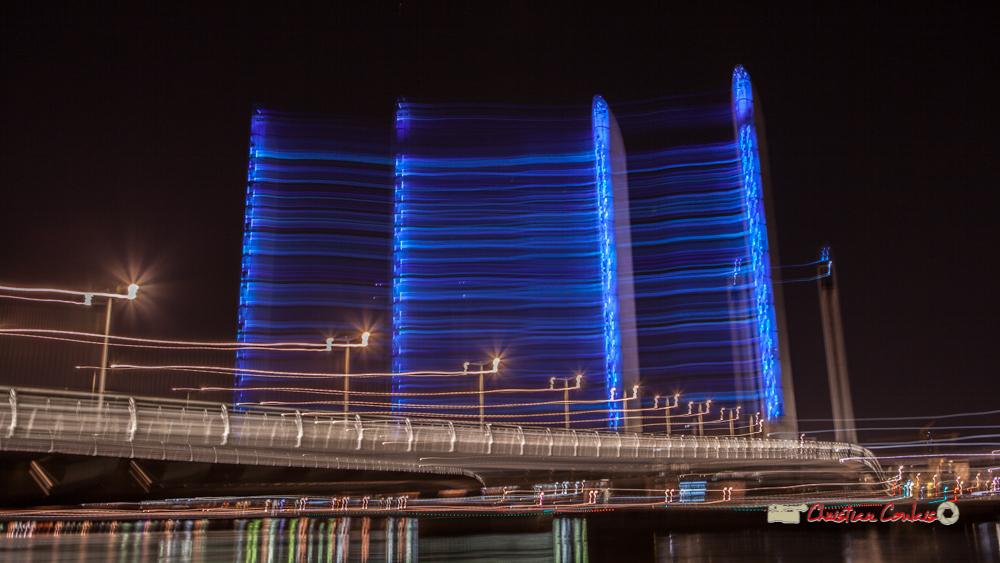 #mouvance2. Pont Jacques Chaban-Delmas, Bordeaux. Mercredi 27 février 2019
