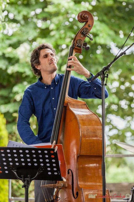 11/06/2016. Kevin Reveyrand, contrebasse, Éric Séva Quartet. Festival JAZZ360