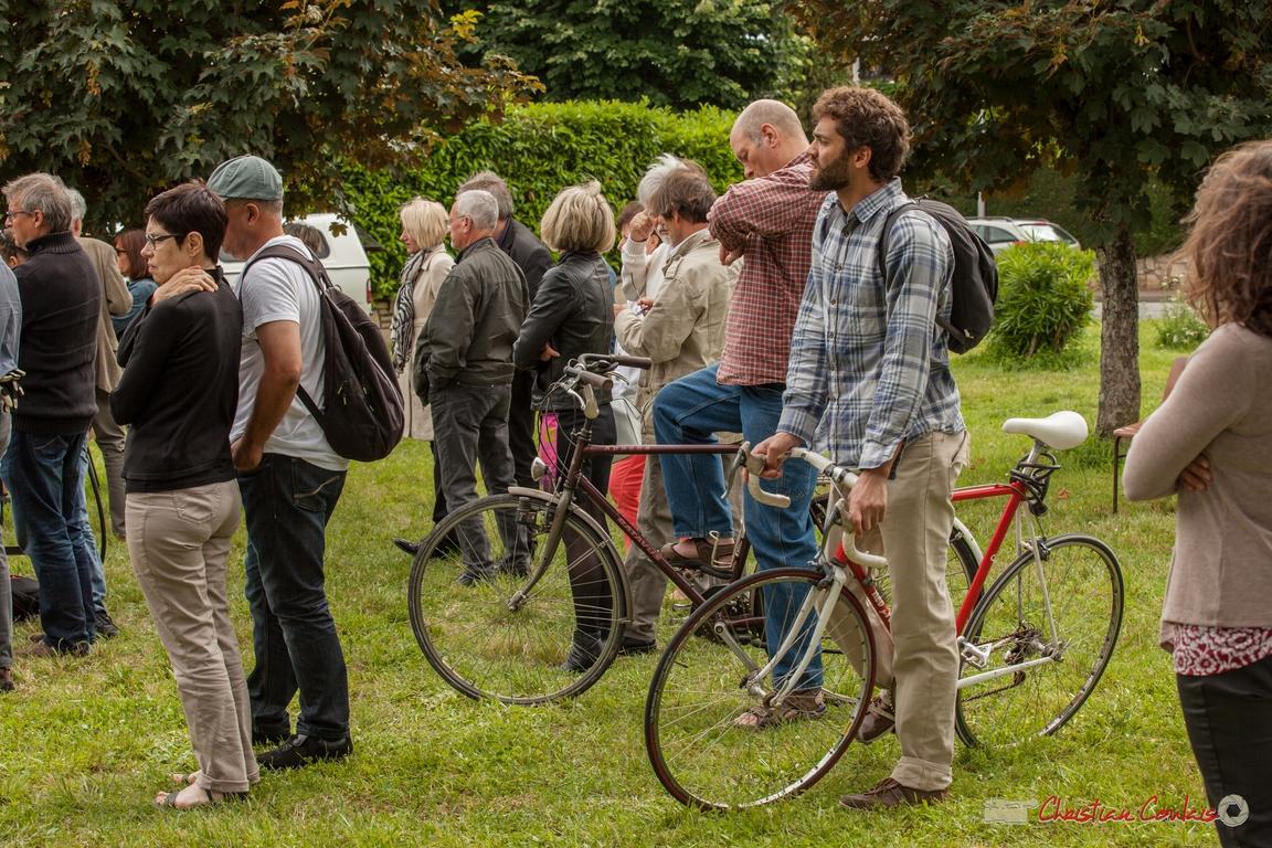 11/06/2016. On y vient en vélo mais aussi en voiture. Pensez au covoiturage ! Festival JAZZ360