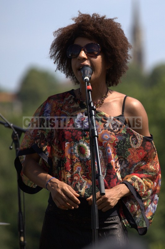 Mayomi Moreno; Akoda Quintet, Festival JAZZ360 2014, Quinsac. 08/06/2014