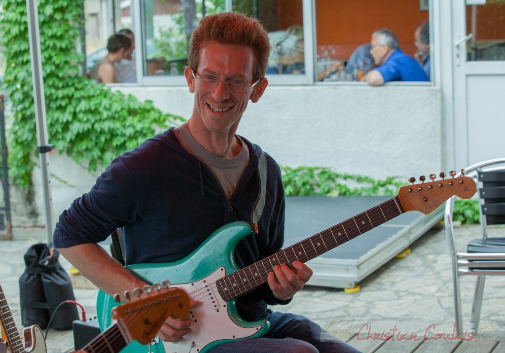 Christophe Maroye, Jazz in Box. Souper Jazz au Restaurant les Acacias. Festival JAZZ360 2015, Cénac